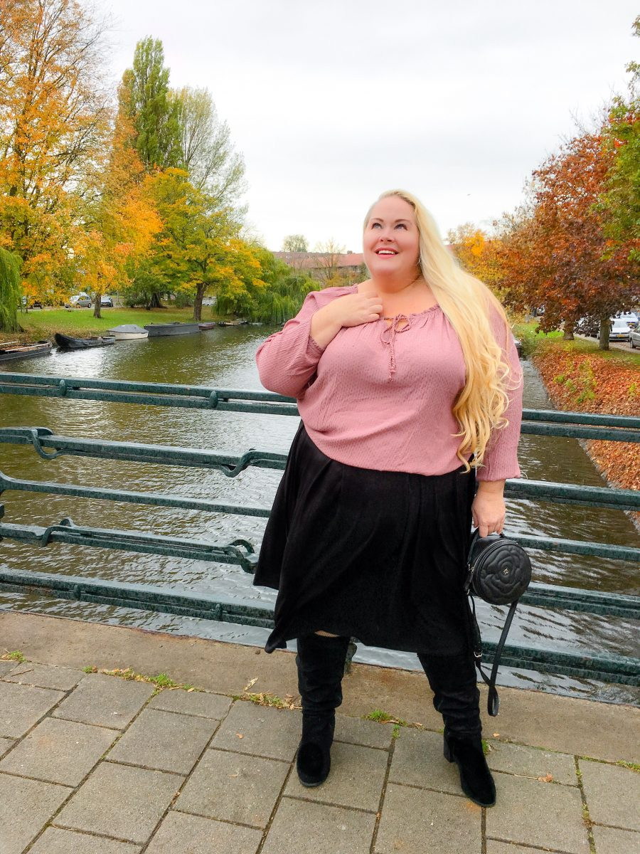 Herfstmode - plus size fashion